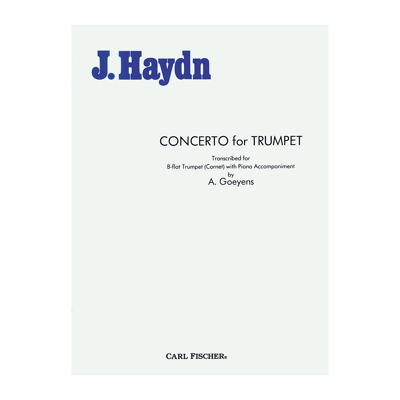 Carl Fischer Concerto For Trumpet thumbnail