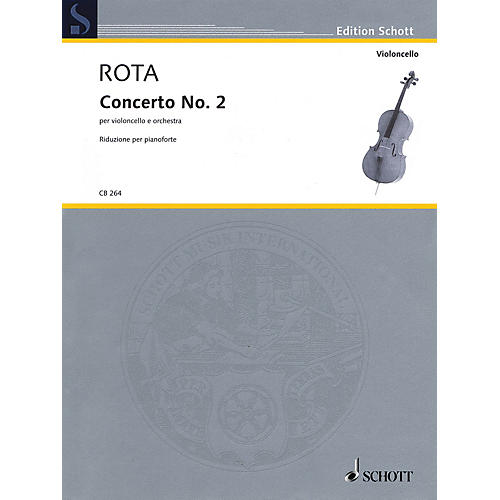 Schott Concerto No. 2 (Cello with Piano Reduction) String Series Softcover thumbnail