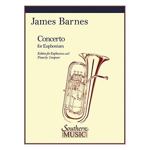 Southern Concerto, Op. 132 (Baritone) Southern Music Series Composed by James Barnes thumbnail