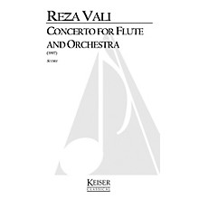 Lauren Keiser Music Publishing Concerto for Flute and Orchestra LKM Music Series Composed by Reza Vali