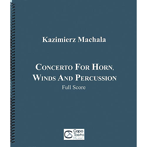 Carl Fischer Concerto for Horn, Winds and Percussion Book-thumbnail