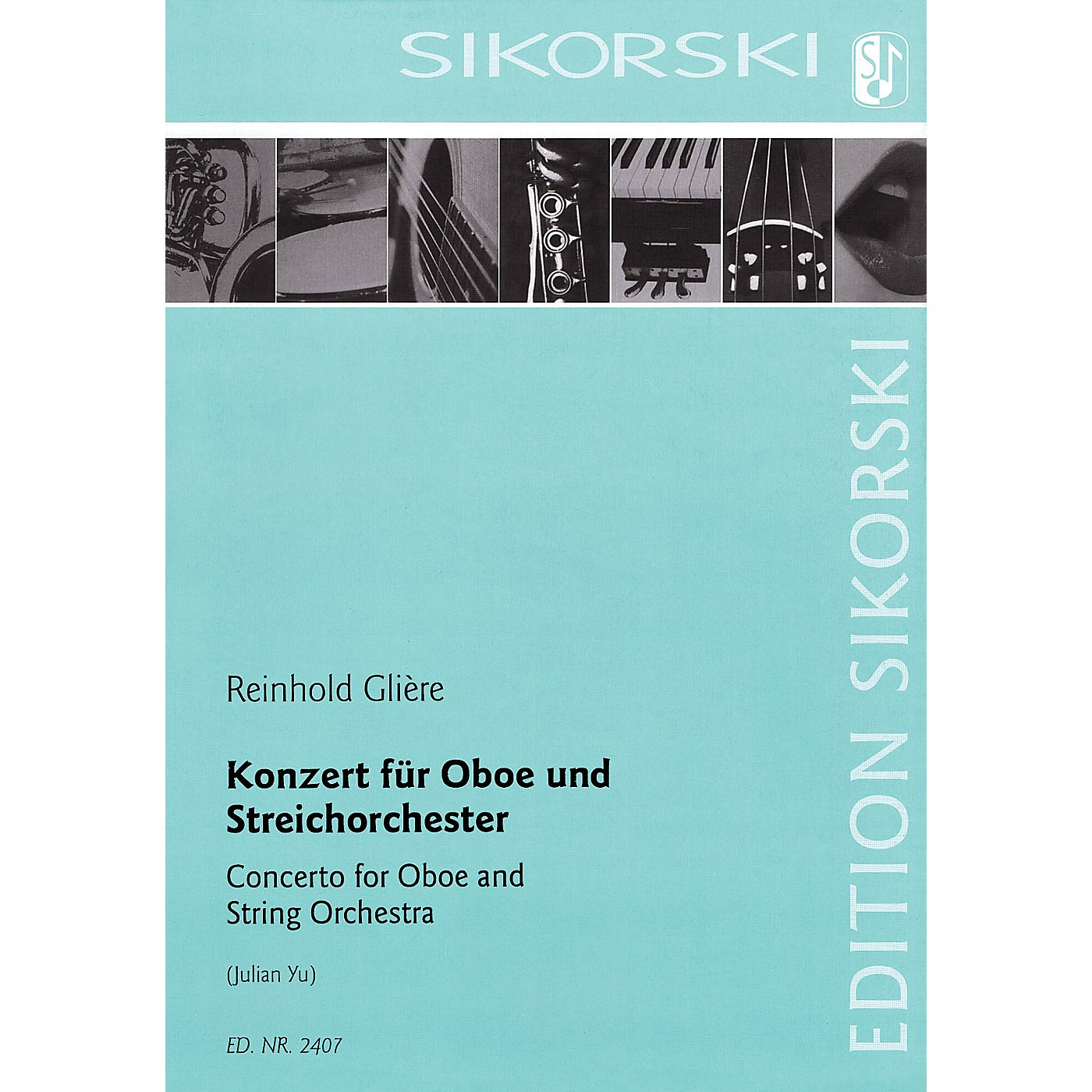 Sikorski Concerto for Oboe and String Orchestra Woodwind Solo by Reinhold Glière Arranged by Julian Yu thumbnail
