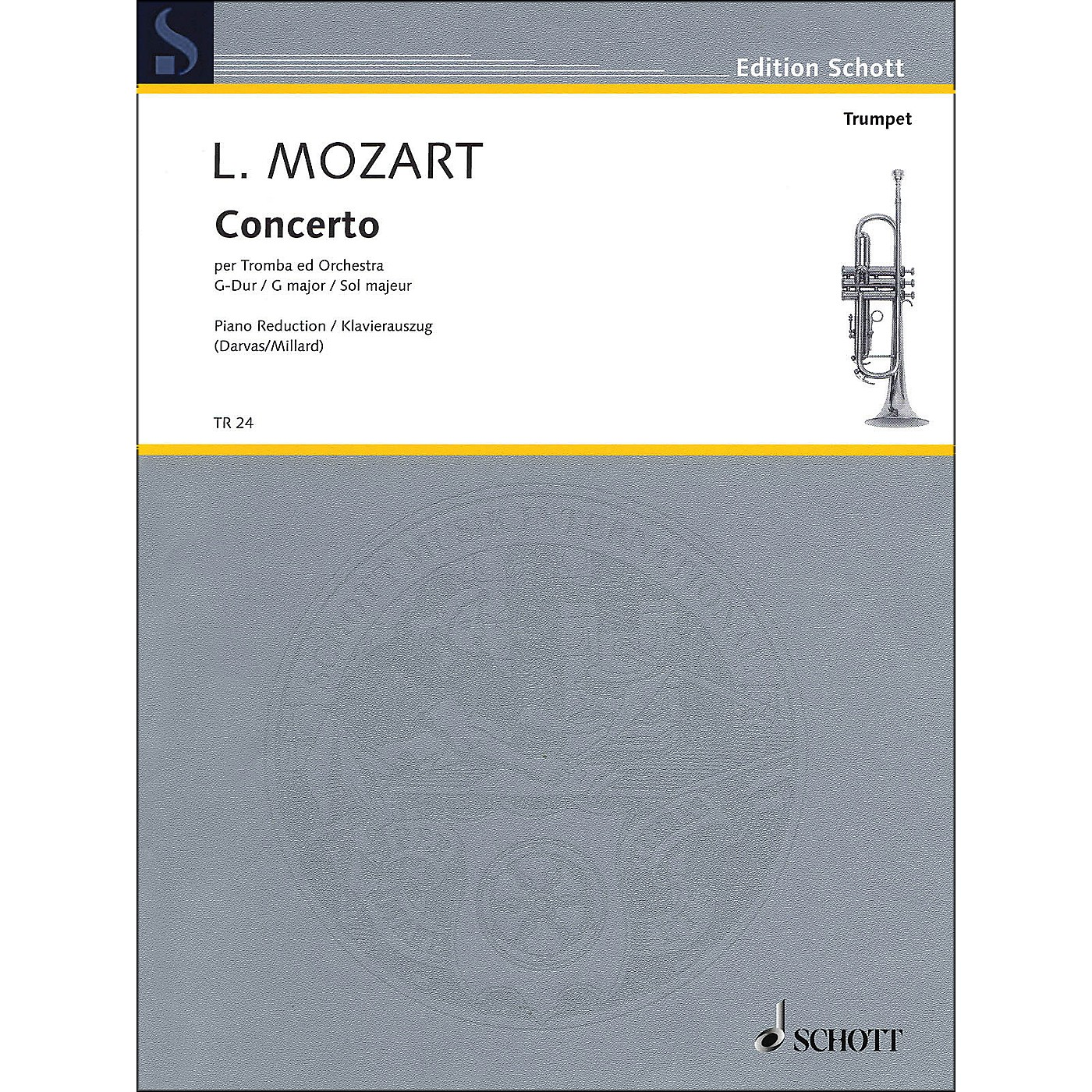 Hal Leonard Concerto for Trumpet And Orchestra In G Major Trumpet In C And Piano thumbnail