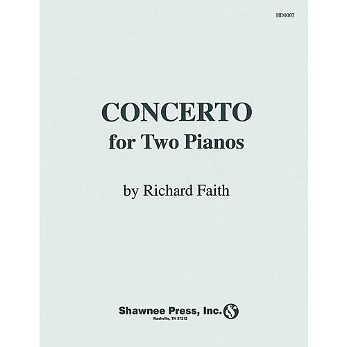 Hal Leonard Concerto for Two Pianos Piano Duet Piano thumbnail