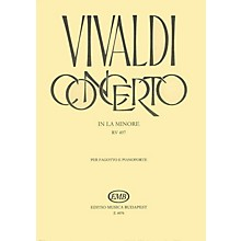 Editio Musica Budapest Concerto in A Minor for Bassoon, Strings and Continuo, RV497 EMB Series by Antonio Vivaldi