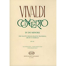 Editio Musica Budapest Concerto in C Minor for Flute, Strings and Continuo, RV 441 EMB Series by Antonio Vivaldi