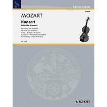 Schott Concerto in D Major, KV. 294a Schott Composed by Wolfgang Amadeus Mozart Arranged by Marius Casadesus