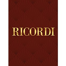 Ricordi Concerto in F Major Piano Large Works Series Composed by Gian-Carlo Menotti