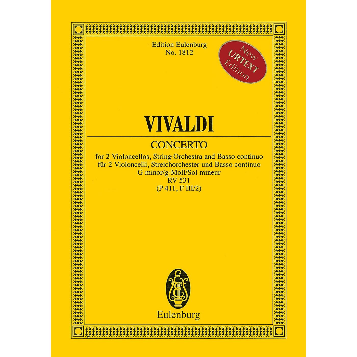 Eulenburg Concerto in G minor RV 531 (P 411, F III/2) Study Score Series Softcover Composed by Antonio Vivaldi thumbnail