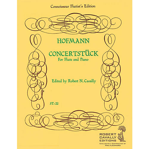 Hal Leonard Concertstück, Op. 98 (Connoisseur Flutist's Edition) Robert Cavally Editions Series by Heinrich Hofmann thumbnail