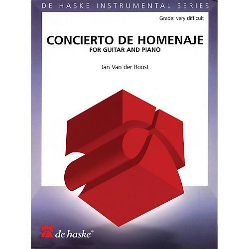 De Haske Music Concierto De Homenaje (for Guitar and Piano) De Haske Play-Along Book Series Softcover thumbnail