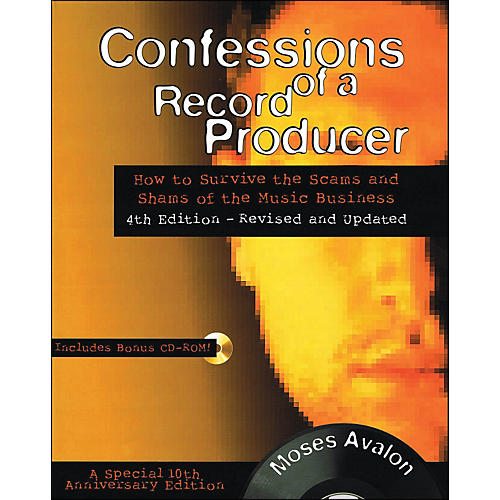 Backbeat Books Confessions Of A Record Producer Book/CD-Rom thumbnail