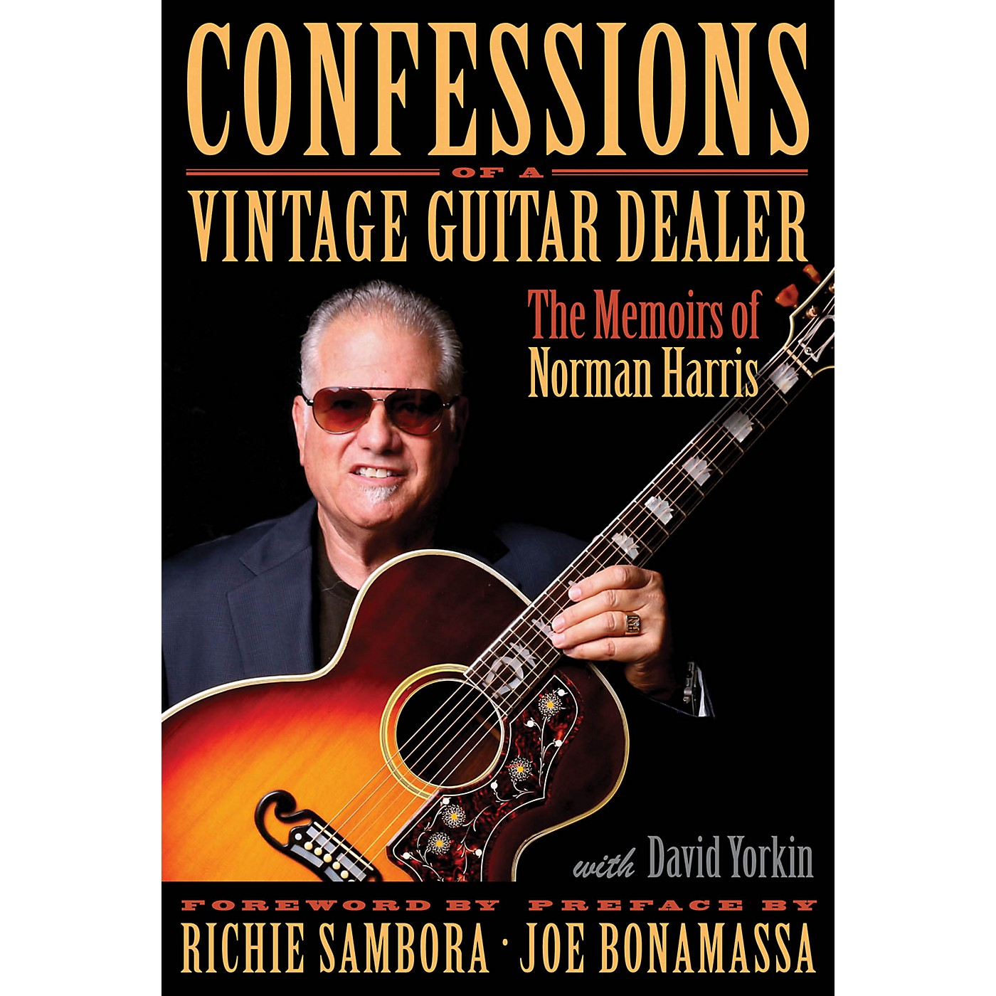 Hal Leonard Confessions of a Vintage Guitar Dealer Book Series Hardcover Written by Norman Harris thumbnail