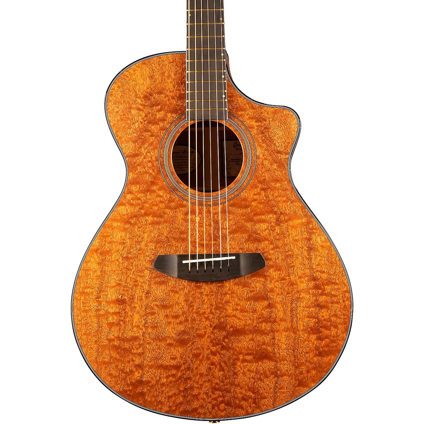 Breedlove Congo Figured Sapele Concert CE Acoustic-Electric Guitar thumbnail