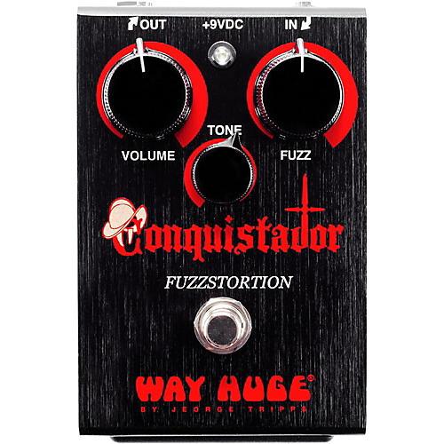 Way Huge Electronics Conquistador Fuzzstortion Effects Pedal thumbnail