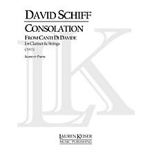 Lauren Keiser Music Publishing Consolation from Canti di Davide (Concerto for Clarinet and Orchestra) LKM Music Series