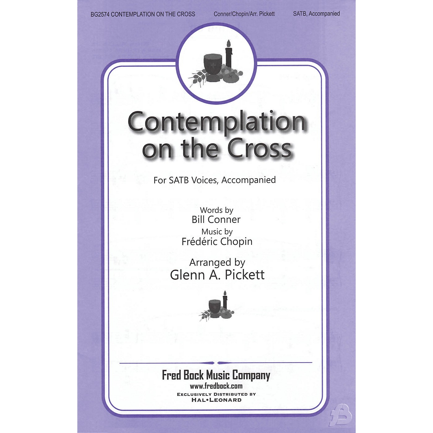 Fred Bock Music Contemplation on the Cross SATB arranged by Glenn A. Pickett thumbnail