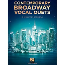 Hal Leonard Contemporary Broadway Vocal Duets