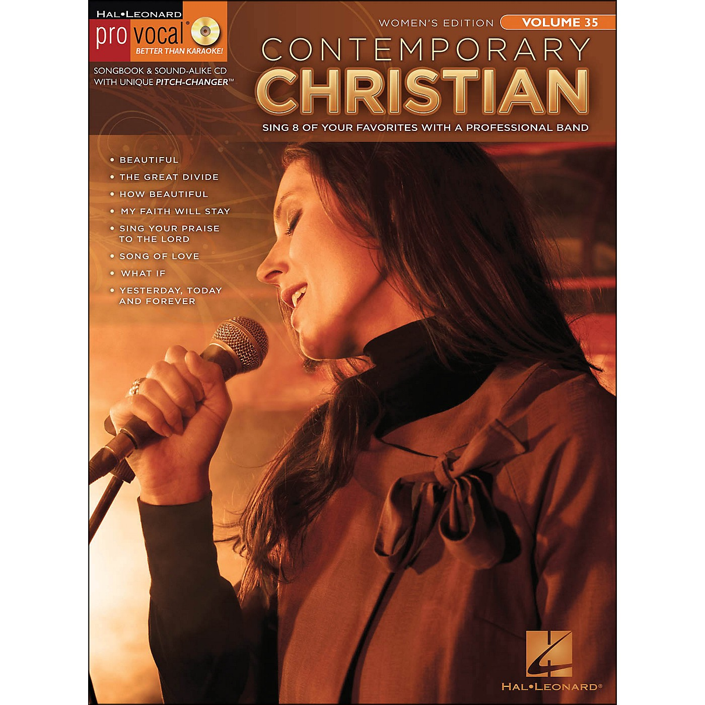 Hal Leonard Contemporary Christian - Pro Vocal Songbook Women's Edition Volume 35 Book/CD thumbnail
