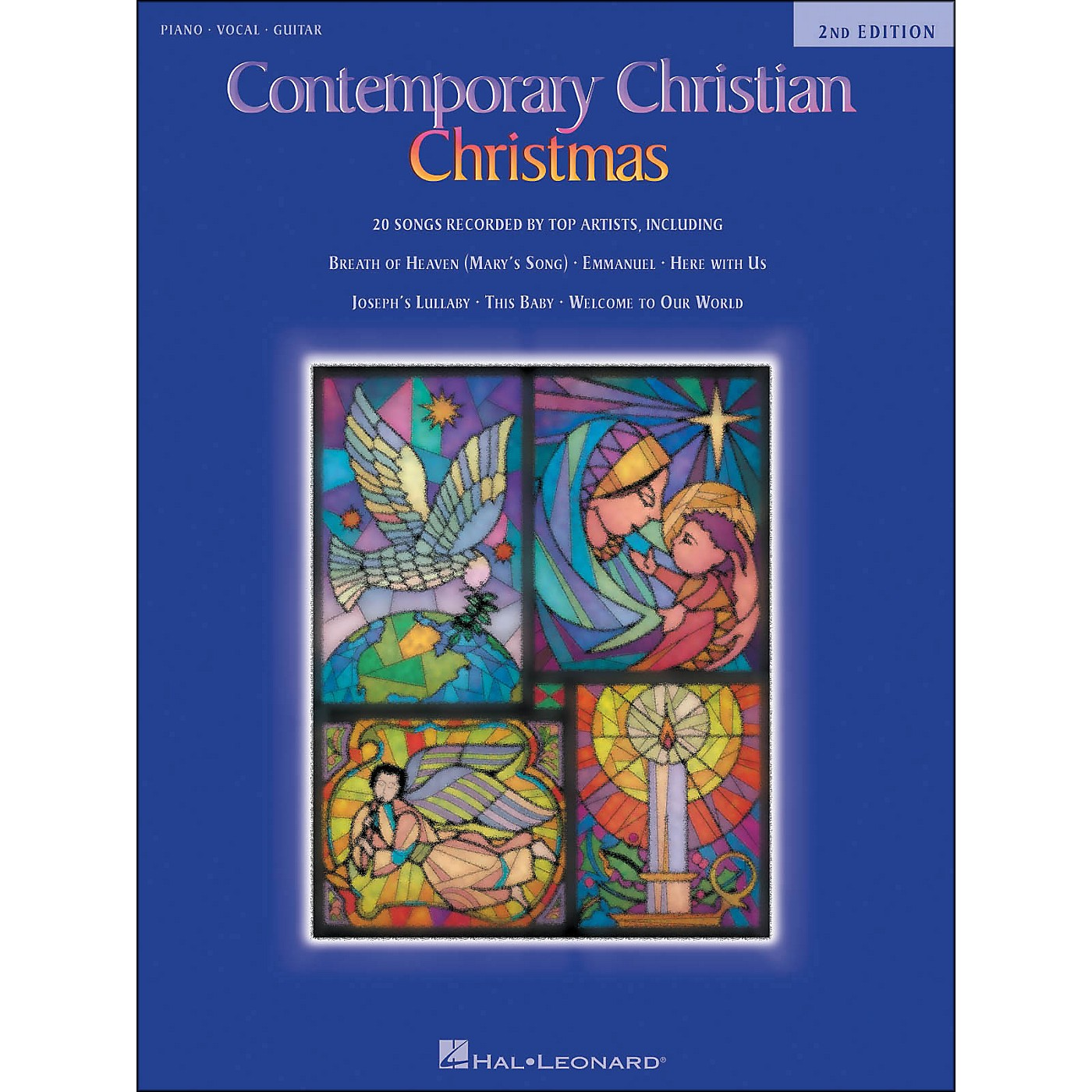 Hal Leonard Contemporary Christian Christmas 2nd Edition arranged for piano, vocal, and guitar (P/V/G) thumbnail