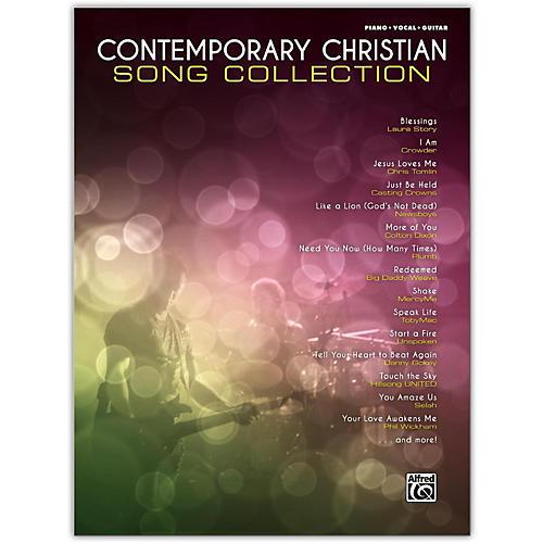 Contemporary Christian Song Collection Pianovocalguitar Songbook