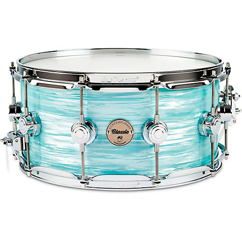 DW Contemporary Classic Finish Ply Snare Drum Nickel Hardware thumbnail