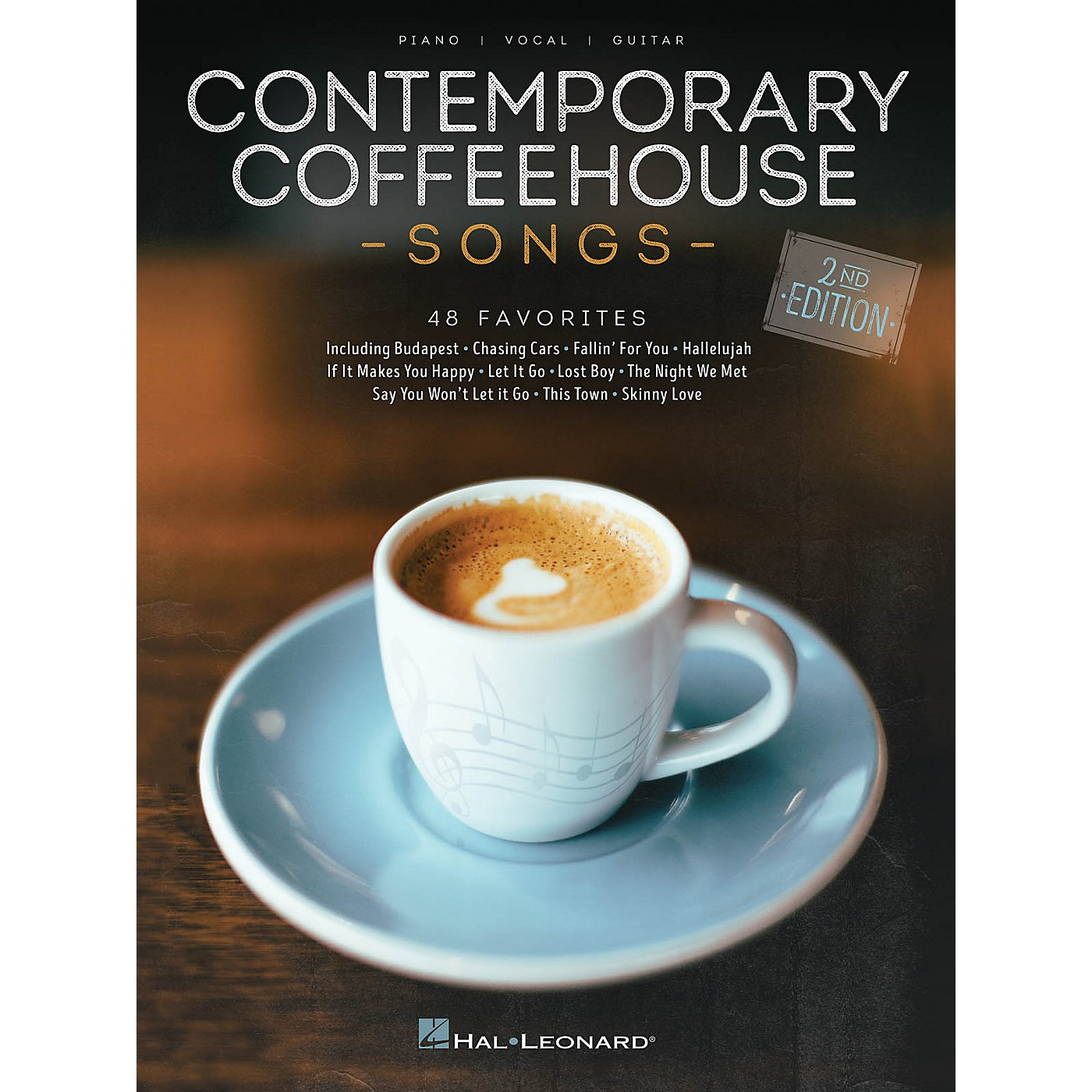 Hal Leonard Contemporary Coffeehouse Songs - 2nd Edition Piano/Vocal/Guitar Songbook thumbnail