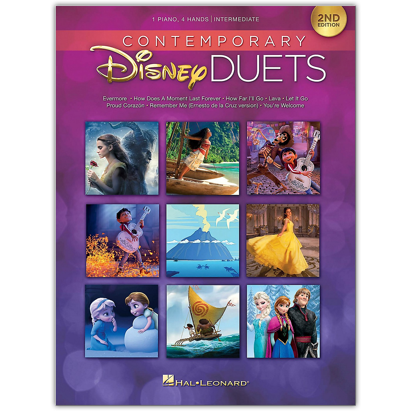 Hal Leonard Contemporary Disney Duets - 2nd Edition Piano Duet Songbook thumbnail