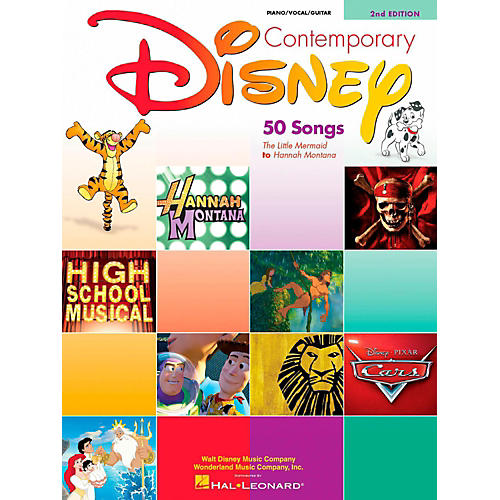 Hal Leonard Contemporary Disney Piano, Vocal, Guitar Songbook thumbnail