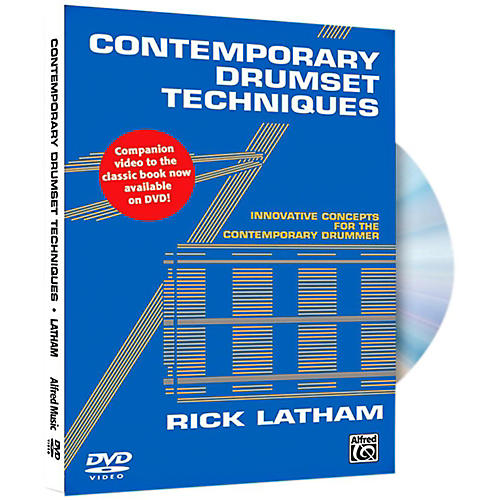 Alfred Contemporary Drumset Techniques DVD thumbnail