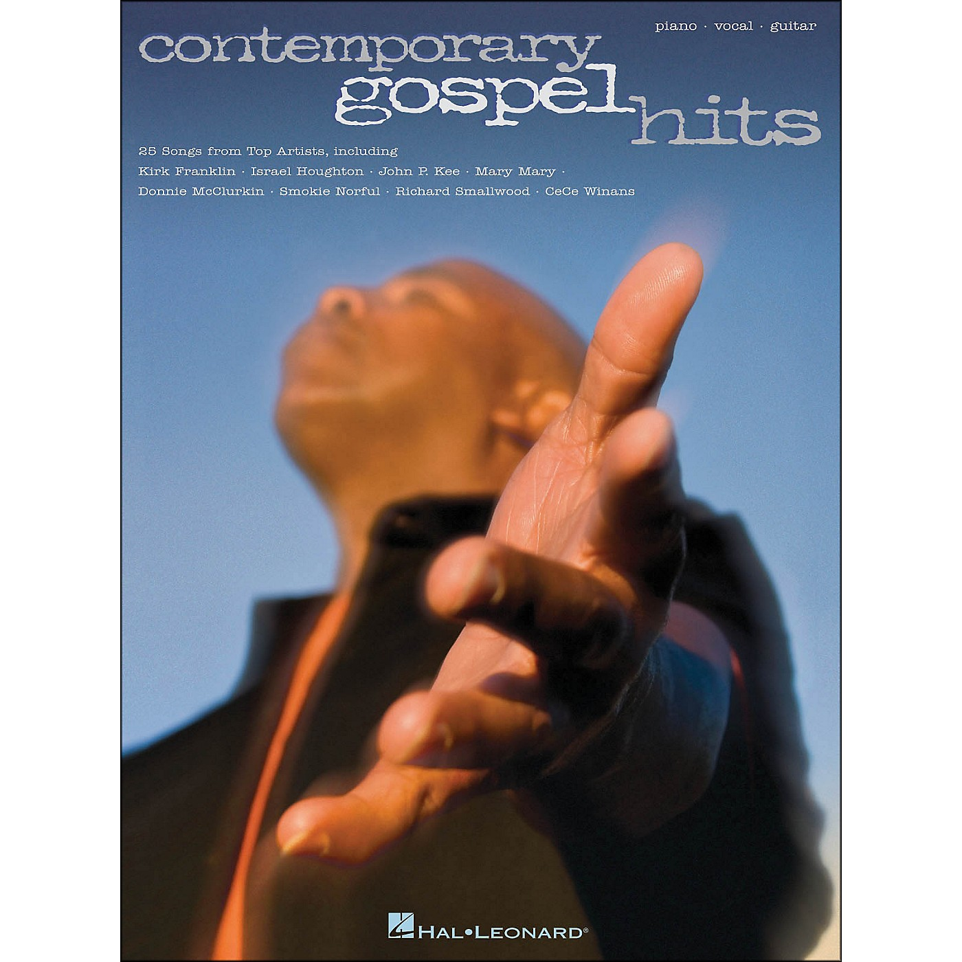 Hal Leonard Contemporary Gospel Hits arranged for piano, vocal, and guitar (P/V/G) thumbnail