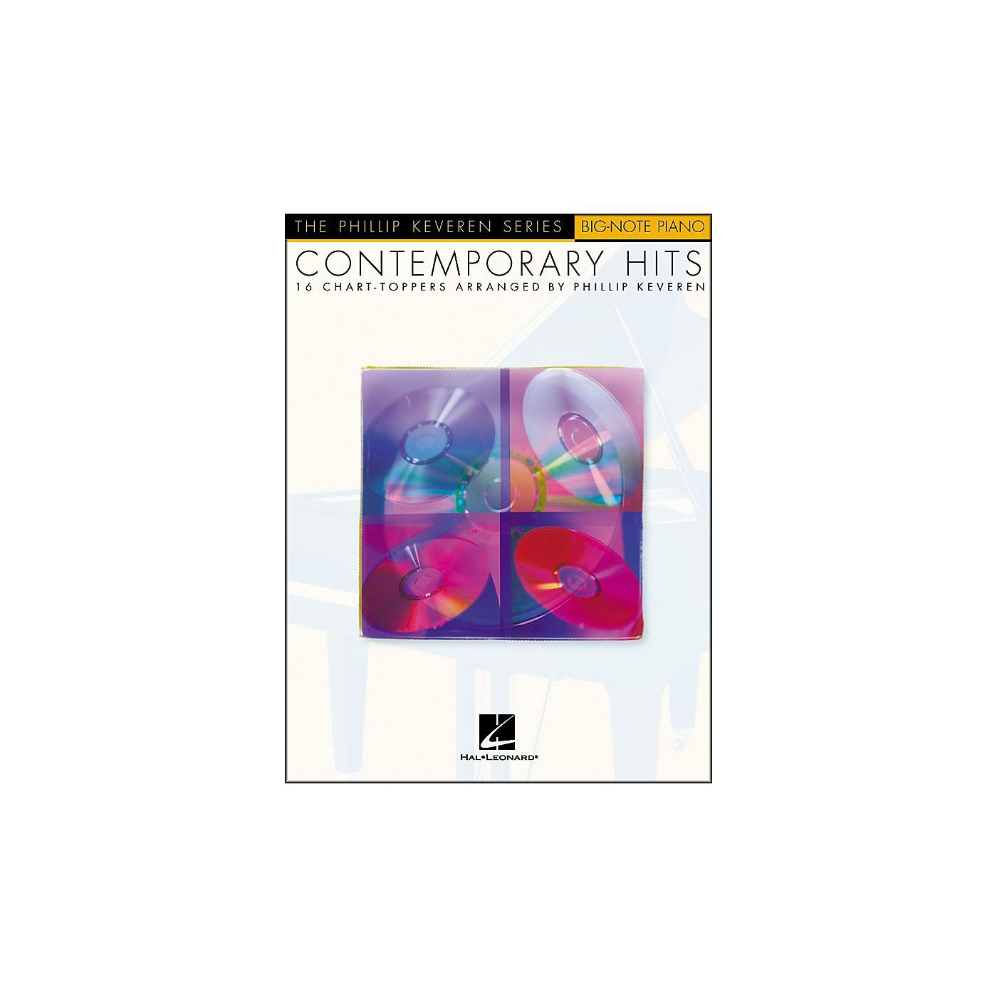Hal Leonard Contemporary Hits - Phillip Keveren Series for Big Note Piano thumbnail