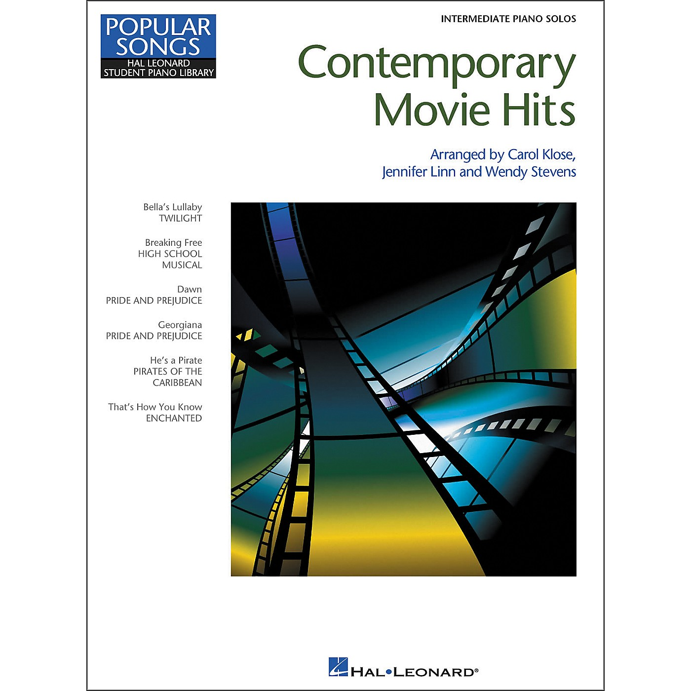 Hal Leonard Contemporary Movie Hits - Hal Leonard Student Piano Library Popular Songs Series - Intermediate Level thumbnail