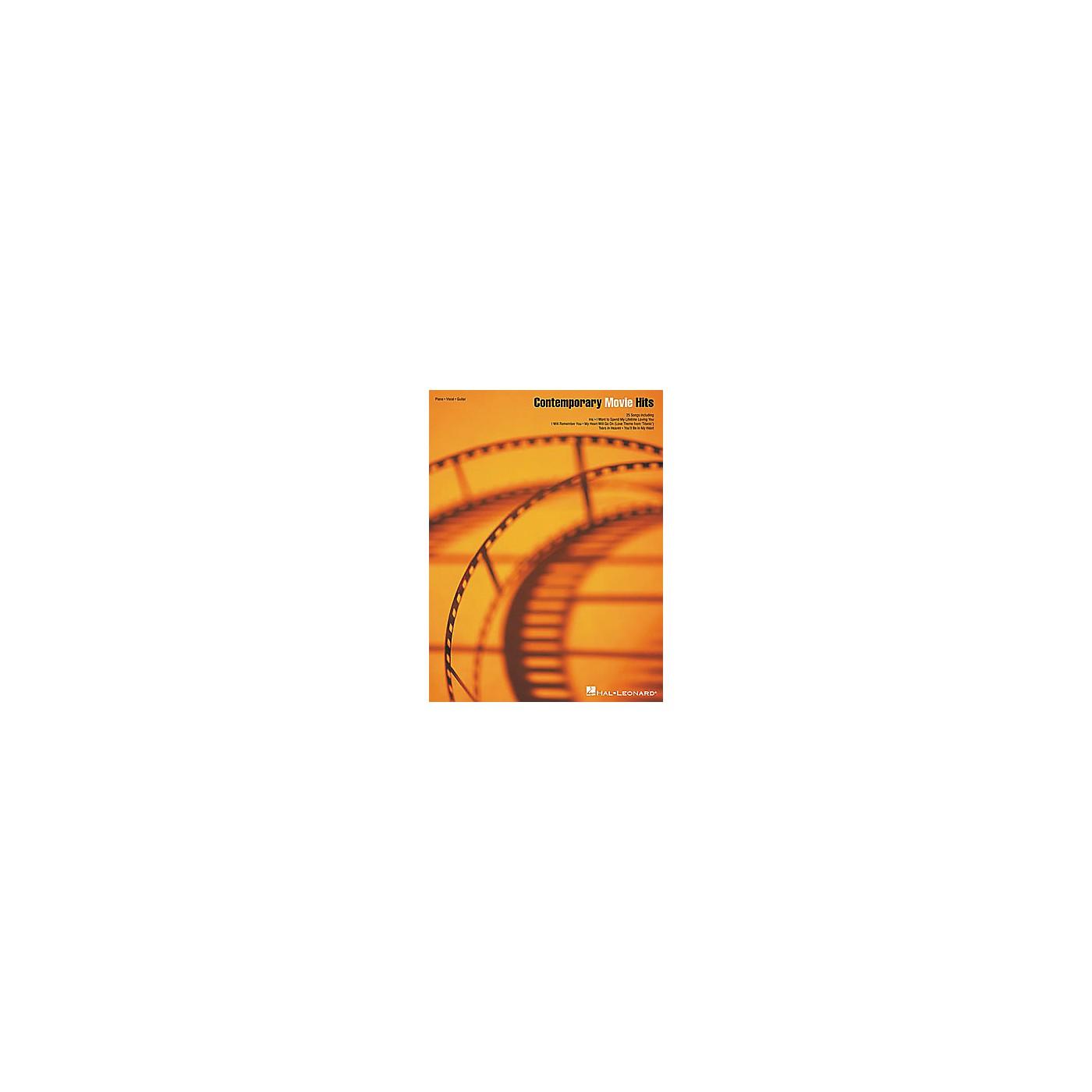 Hal Leonard Contemporary Movie Hits Piano, Vocal, Guitar Songbook thumbnail