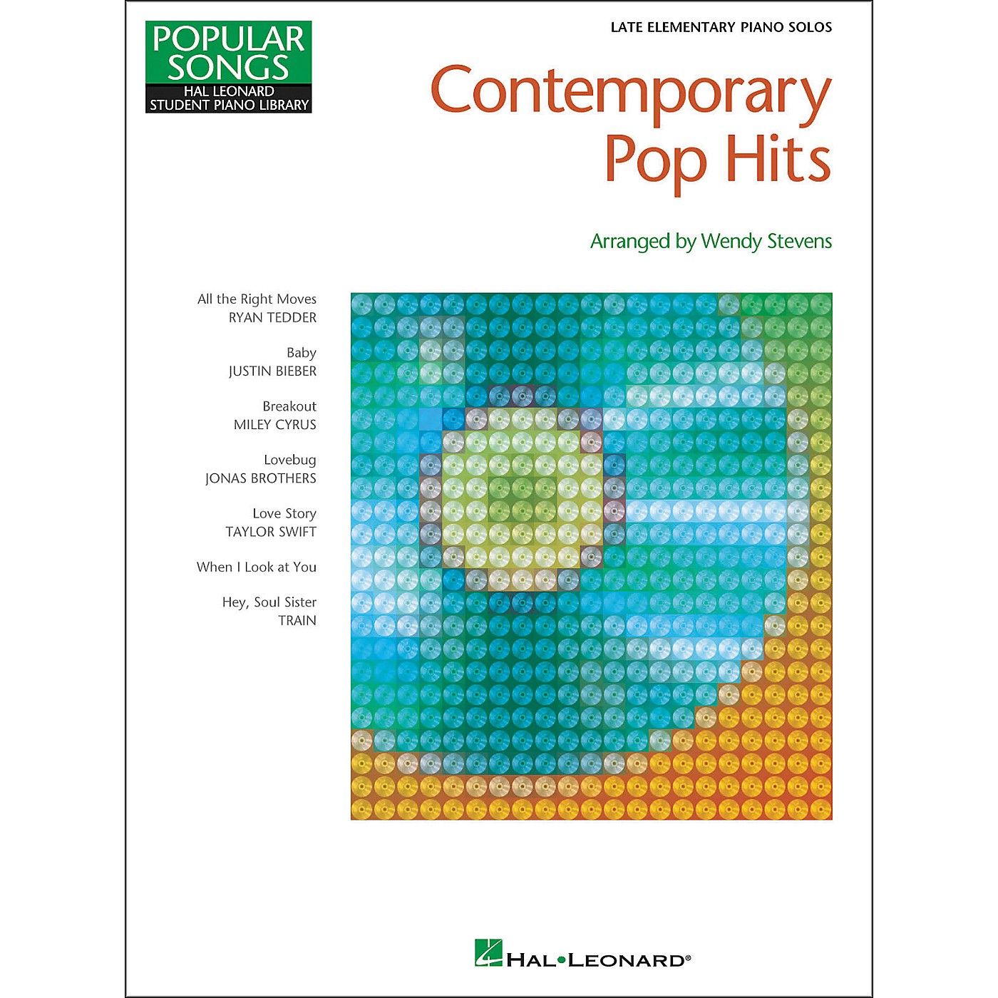 Hal Leonard Contemporary Pop Hits - Late Elementary Piano Solos Songbook thumbnail
