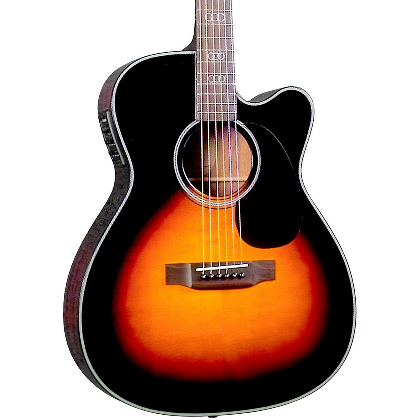 Blueridge Contemporary Series BR-343CE 000 Cutaway Acoustic-Electric Guitar (Gospel Model) thumbnail