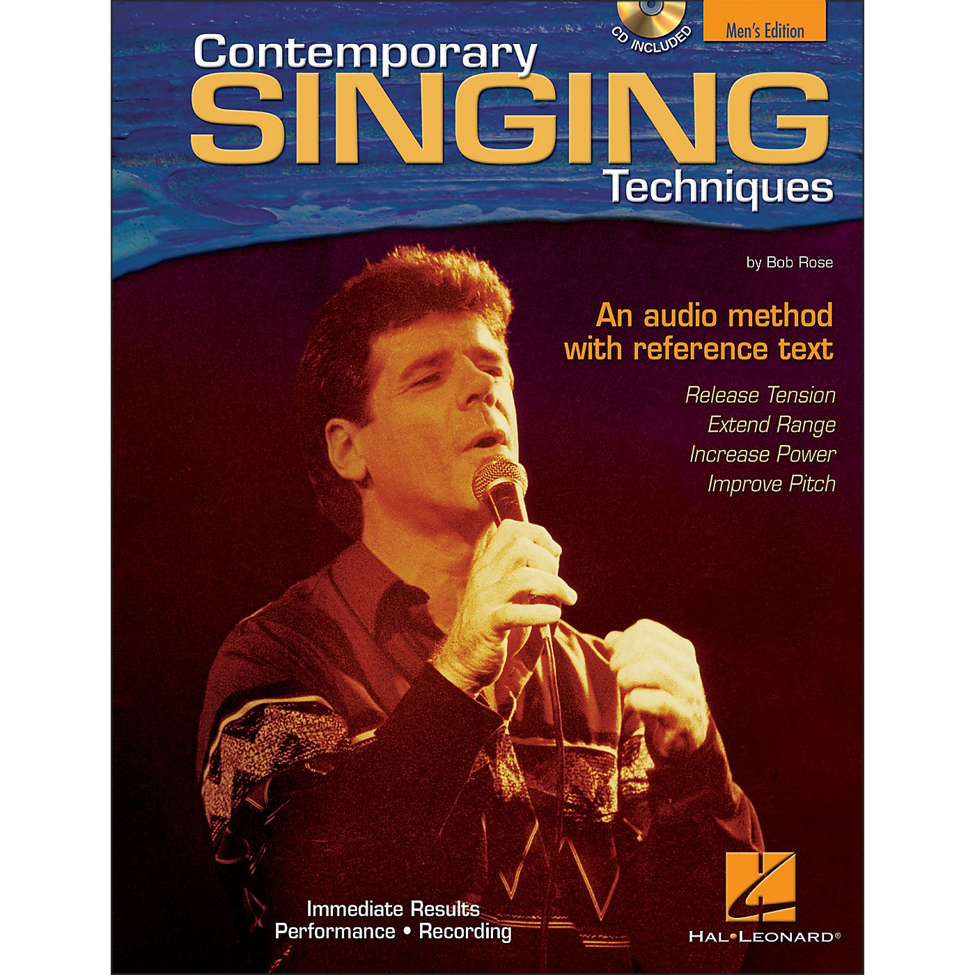 Hal Leonard Contemporary Singing Techniques - Men's Edition Book/CD thumbnail