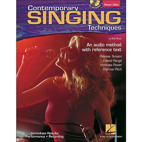 Hal Leonard Contemporary Singing Techniques - Women's Edition Book/CD-thumbnail