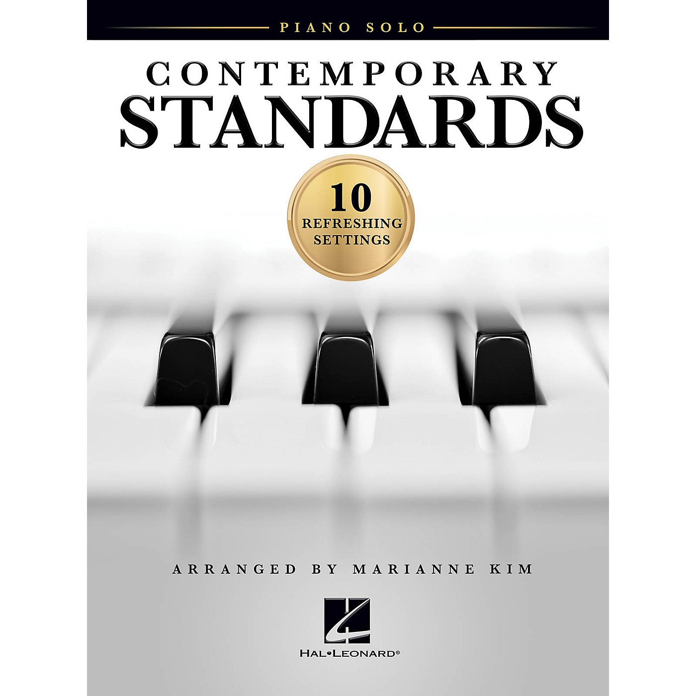 Hal Leonard Contemporary Standards (10 Refreshing Settings) Piano Solo Songbook thumbnail