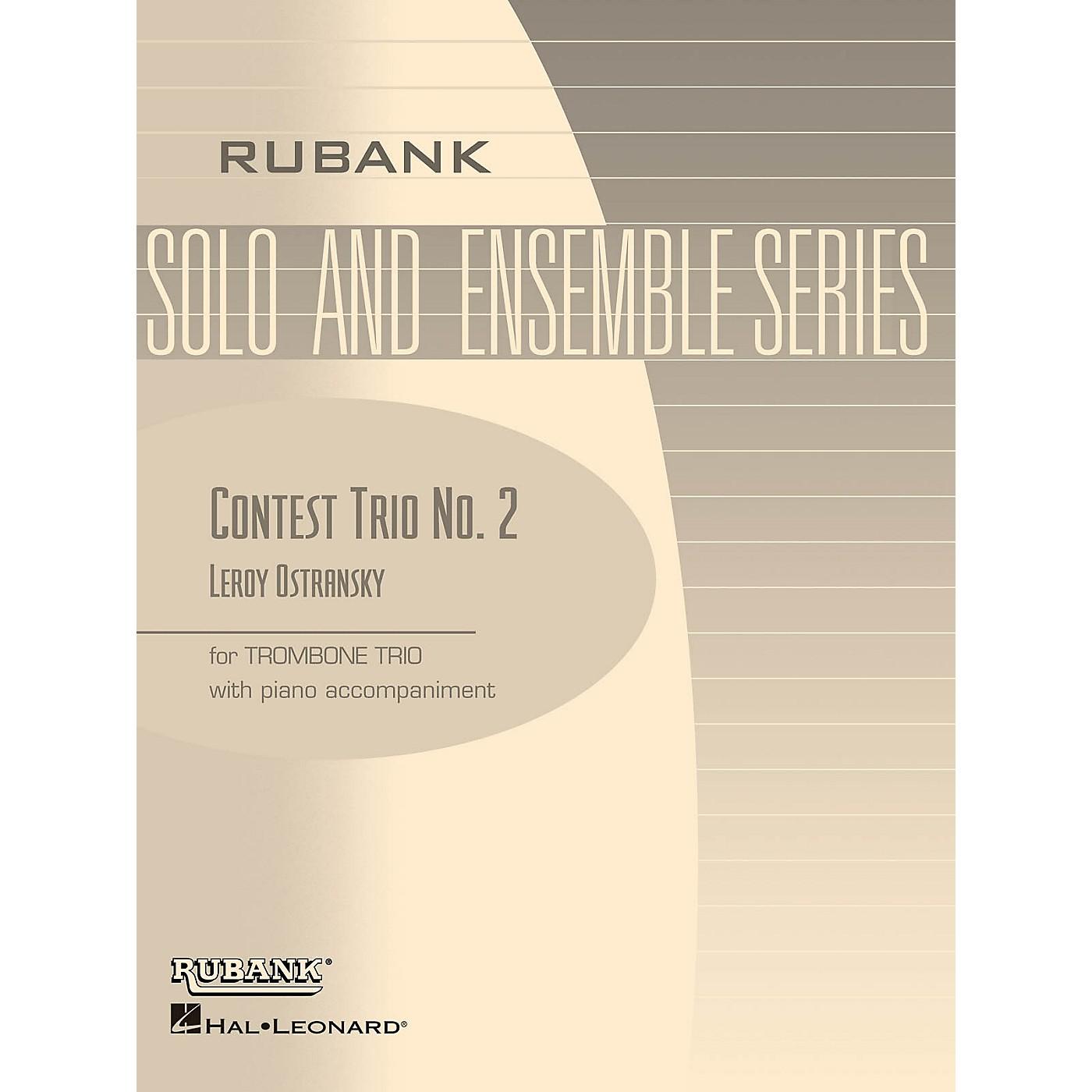 Rubank Publications Contest Trio No. 2 Rubank Solo/Ensemble Sheet Series Composed by Leroy Ostransky thumbnail