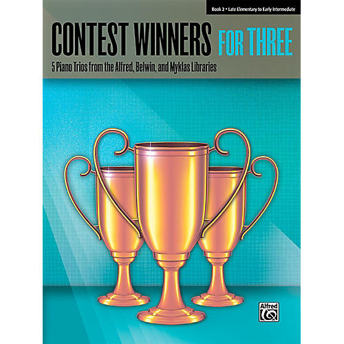 Alfred Contest Winners for Three Book 2  Late Elementary / Early Intermediate Piano thumbnail