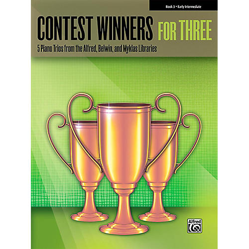 Alfred Contest Winners for Three Book 3  Early Intermediate Piano thumbnail