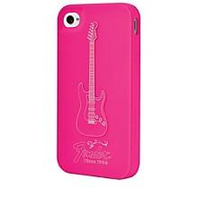 Hal Leonard Contour Design Fender iPhone 4/4S Genuine Magenta Silicone Protective Case