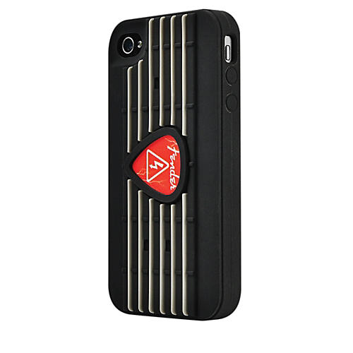 Hal Leonard Contour Design Fender iPhone 4/4S Red Pick Silicone Protective Case-thumbnail