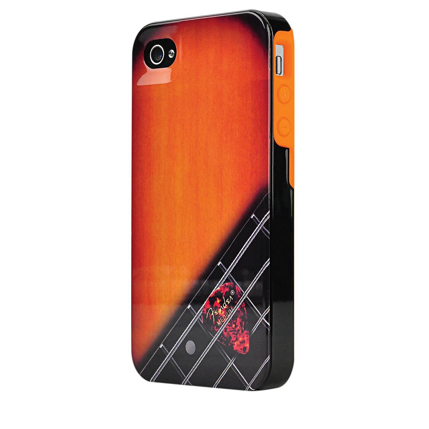 Hal Leonard Contour Design Fender iPhone 4/4S Wood Grain Hard Gloss Protective Case thumbnail