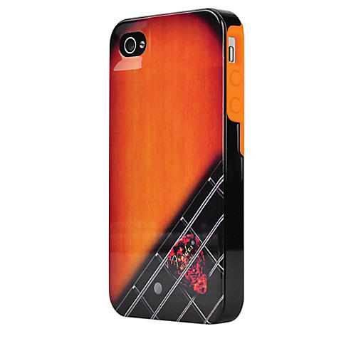Hal Leonard Contour Design Fender iPhone 4/4S Wood Grain Hard Gloss Protective Case-thumbnail
