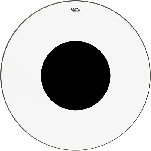 Remo Controlled Sound Clear with Black Dot Bass Drum Head thumbnail