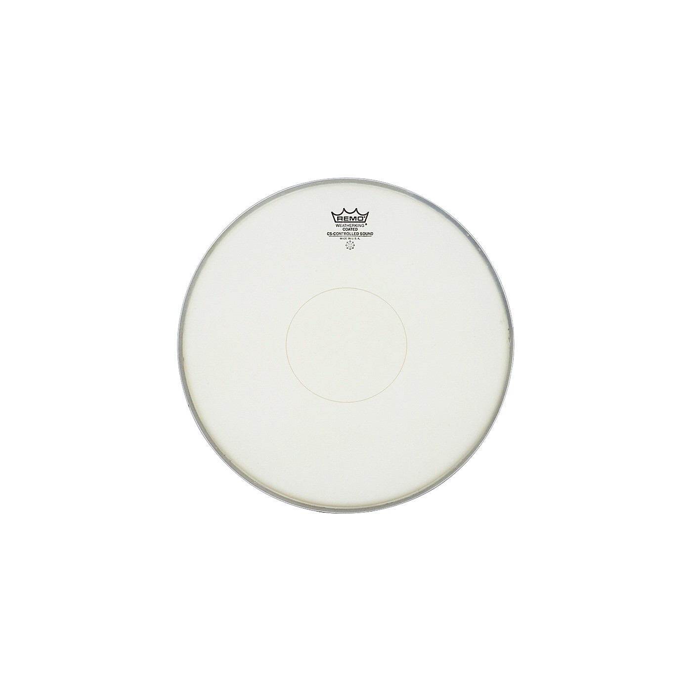 Remo Controlled Sound Coated Clear Dot Bottom Dot Snare Batter thumbnail