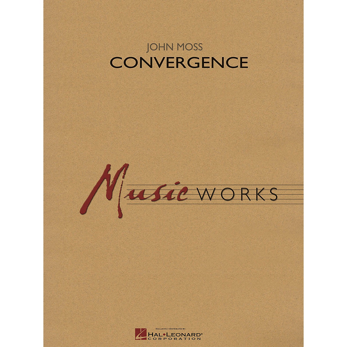 Hal Leonard Convergence Concert Band Level 4 Composed by John Moss thumbnail