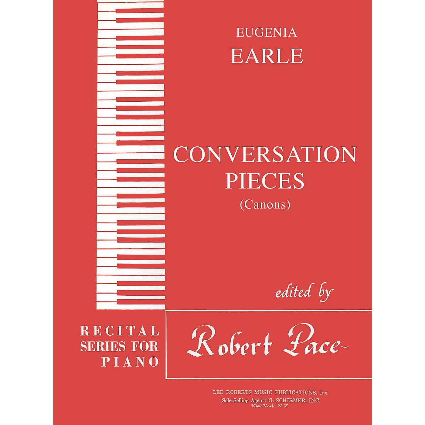 Lee Roberts Conversation Pieces - A Set of Canons Pace Piano Education Series Composed by Eugenia Earle thumbnail